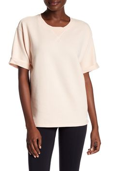 Image of Ivy Park Peached Short Sleeve Pullover