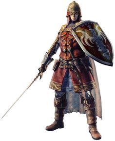 View an image titled 'Fighter Art' in our Dragon's Dogma Online art gallery featuring official character designs, concept art, and promo pictures. Fantasy Armor, Medieval Fantasy, Dark Fantasy, Medieval Knight, Character Portraits, Character Art, Character Design, Character Sheet, Dnd Characters