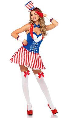 American Flag Dress and Shirt wPhotoNovels