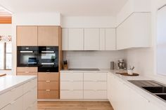 Green West House, rework and update of a 1980s home by Source Architects #kitchen