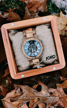 Shop our collection of wood watches for men. JORD is a premium designer of hand-crafted wood watches for him. Jord Wood Watches, Wooden Watches For Men, Luxury Watches For Men, Ring Watch, Black Friday Deals, Acacia, Photo Credit, Holiday Gifts, Lost