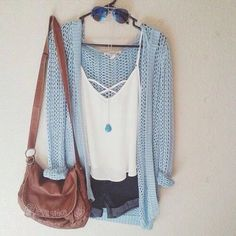Cardigan: light blue, fall outfits, fall sweater, fashion, cute, sweater, summer outfits, blue, knitwear, knitted cardigan, baby blue, heavy knit jumper, knitwear, light blue cardigan, blue cardigan - Wheretoget
