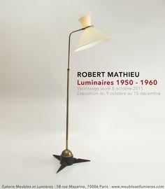 Nous vous attendons au vernissage de l'exposition Robert Mathieu le 8 octobre 2015 au 58 rue Mazarine. A très vite !