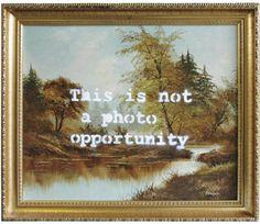 «Ruined Landscape» Banksy, 2007