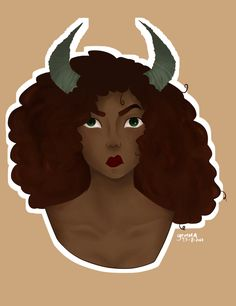 Some Girl with horns