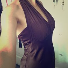 Satin Party Gown LIKE NEW / Perfect for parties, weddings and proms✨/ more details coming*** *BCBG STYLE*** BCBG Dresses Backless