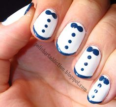 Polish Art Addict: Zooey Deschanel Tuxedo Nails