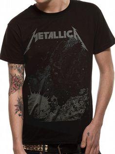 #Tshirt Tuesday: Iconic Rock T-shirts #metallica #rocknroll #iconictshirts