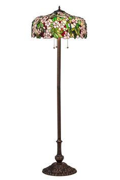 63 Inch H Tiffany Cherry Blossom Floor Lamp