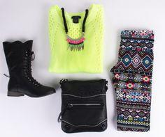 #Neon sweater - Deb Shops