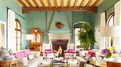 Love this room...a lot!  Your Walls Need: The Color Swamp via Domaine Home