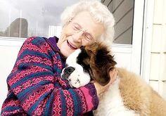Los adultos mayores y las mascotas