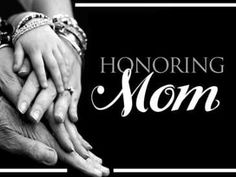How did your church honor Mom's this year?