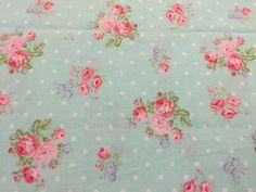 Beautiful fabric perfect for a baby girls nursery, little girls room etc. 100% cotton fabric perfect for quilting, apparel, pillows, valances and