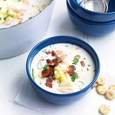 Use the edge of a spoon to scrape every last bit of pulp from the cob -- it adds flavor and helps to lightly thicken the chowder.