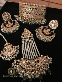 bridal sets & bridesmaid jewelry sets – a complete bridal look Bridesmaid Jewelry Sets, Bridal Jewelry Sets, Bridal Accessories, Bridesmaid Gifts, Bridesmaid Earrings, Bridal Sets, Jewelry Accessories, Pakistani Bridal Jewelry, Indian Wedding Jewelry