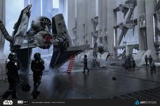 ArtStation - ILM Art Department Challenge - The Ride , Pablo Dominguez