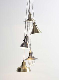 Brass Lourdes Cluster Ceiling Light - Ceiling Lights - Home, Lighting & Furniture - BHS