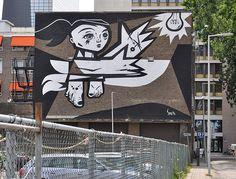 Street Art - Artista Speto, O.bra Festival;