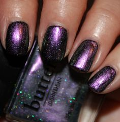 butter london knackered (over black) -- loving the butter london spring 2012 collection! - nail polish