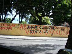 Muro da Reitoria da Universidade Federal do Ceará, Fortaleza-CE