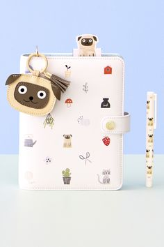 Share the pug love with this adorable planner.