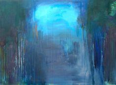 "Saatchi Online Artist: Barbara Pitcher; Mixed Media, 2013, Painting ""springtime"""