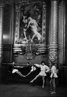 The Palais Garnier Opera House, Paris, 1954 Photo by Henri Cartier-Bresson © Beetles & Huxley 2015