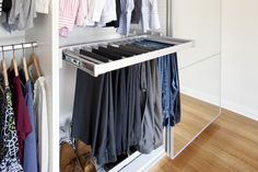 Etonnant Another Pinner Wrote: DIY Closet Organizer. This Pants Rack Among Other  Ideas Are A MUST For My Closet Rehab. Great Ideas Here!