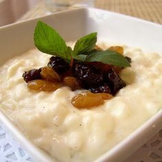 Rice Pudding (Made With Coconut Milk) Recipe