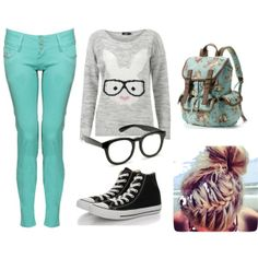 """""""Nerdy Chic"""" by tillie-manly on Polyvore"""