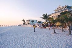 Pretty pastels of Fort Myers Beach | by VISIT FLORIDA, via Flickr