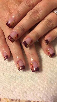 Thanksgiving nails. fall nail colors design, autumn nails colors design