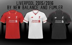 515bc73ee Liverpool New Home Away Jersey Shirt Kits with New Balance in season 2015  2016   Have a Nice Day !