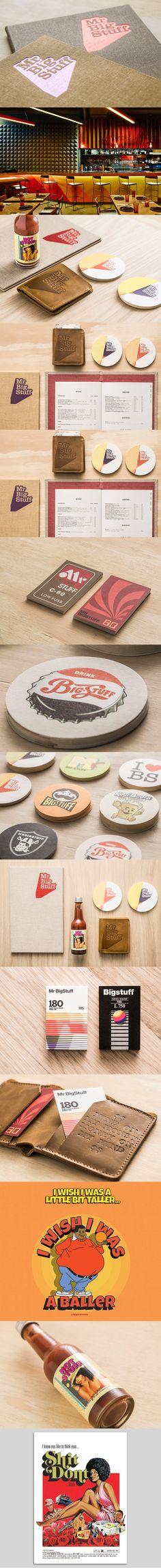Mr Big Stuff brand by Can I Play Corporate Identity, Visual Identity, Brand Identity, Graphic Design Branding, Logo Branding, Mr Big, Brand Guidelines, Of Brand, Creative Logo