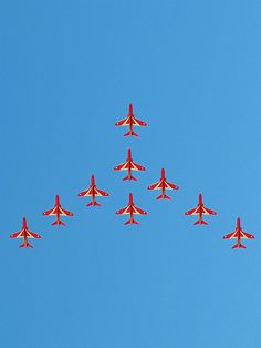 Peace - The Red Arrows, Royal Air Force Aerobatic Team by Sameli Kujala, via Flickr