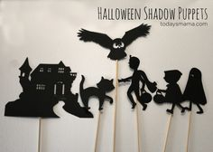 Halloween Shadow Puppets on TodaysMama.com