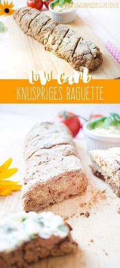 Low Carb Baguette, das innen nicht feucht ist, dafür außen knusprig! (glutenfrei)