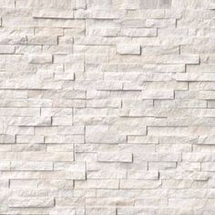 Natural Stone US offers ledger panels as Stacked Stone Ledger Panels, Ledger Stone Panels, Natural stone veneers in San Jose, CA warehouse. Marble Wall, Wall Tiles, White Marble, Honed Marble, White Oak, White Stone Fireplaces, Stone Veneer Fireplace, Tile Fireplace, Stacked Stone Panels