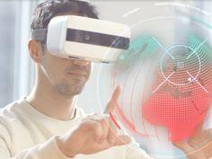 Kickstarter project waarin VR en AR wordt gecombineerd in één device.