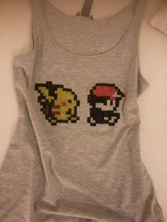 Pokemon Gameboy Shirt by CarmenChirps on Etsy, €18.00