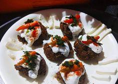Lauki Appe Tikki Chat Recipe by Bishakha Kumari Saxena Chats Recipe, Peanut Powder, Roasted Peanuts, Red Chilli, Indian Snacks, Recipe Using, Great Recipes, Festive