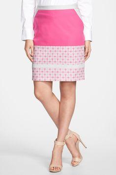 Halogen   Halogen(R) Colorblock Pencil Skirt