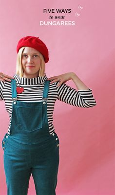 Five Ways to Wear Dungarees - Tilly and the Buttons blog