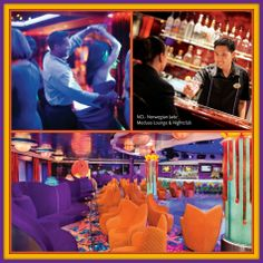 NCL-Norwegian Jade  Spend your evenings on board having fun and get ready to dance until the wee hours in the Medusa Lounge & Nightclub. There are also 3 private Karaoke Rooms that can be reserved for private parties.