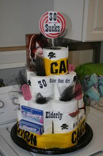Over the Hill Cake...too mean??? But funny....
