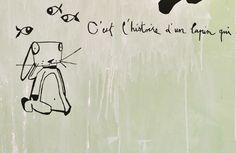 STICKER MURAUX LE PRE D'EAU | Sticker mural oiseau Le Pré d'Eau- Le rêveur 40x20cm