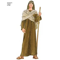 Find a pattern for Misses, Men & Teen Costumes at Simplicity, plus many more unique patterns. Nativity Costumes, Diy Nativity, Costumes For Teens, Diy Costumes, Shepherd Costume, Biblical Costumes, Easter Play, Christmas Pageant, Church Activities