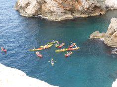 Kayaking in Dubrovnik, Croatia