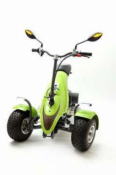 SCUBE®, véhicule tri-porté électrique éco-conçu en fibres de lin